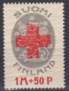 Finland Sc #B1 Mint Hinged; Mi #111