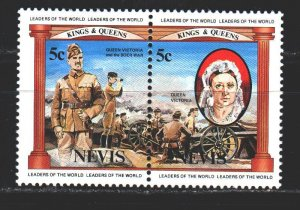 Nevis. 1984. 131-32 from the series. Queen Victoria, Army. MNH.