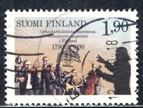 Finland; 1990: Sc. # 812: O/Used Cpl. Set