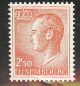 Luxembourg Scott 423 MNH** from 1965-71 Grand Duke Jean set