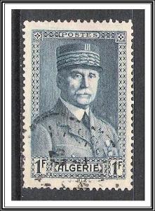 Algeria #135 Marshal Petain Used