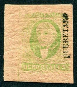 HERRICKSTAMP MEXICO Sc.# 12 Mint LH Rare Stamp
