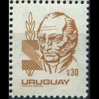 URUGUAY 1980 - Scott# 1088 Leader Artigas 30p NH