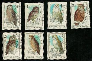 Birds, Hungary, (2754-T)