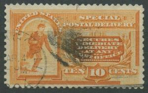 #E3 10c SPECIAL DELIVERY VF-XF USED CV $85 AU915