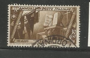 ITALY, 295, U, FASCIST GOVERNMENT