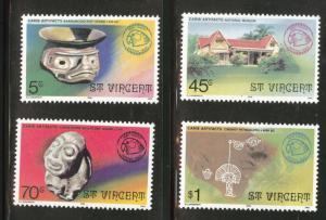 St Vincent Scott 479-82 MH* 1976 set