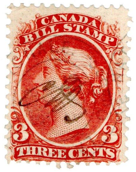 (I.B) Canada Revenue : Bill Stamp 3c