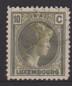 Luxembourg Sc#160 Used