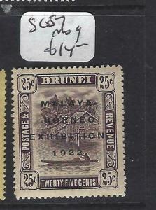 BRUNEI   (P2704B)  MBE  25C    SG 57   MOG