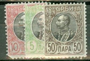 CX: Serbia 87//97 mint no 93 CV $74; scan shows only a few