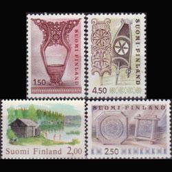 FINLAND 1976 - Scott# 566-9 Handicrafts 1.5-4.5m NH