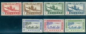 French Sudan #C6//C13  Mint  Scott $7.15   Missing #C10