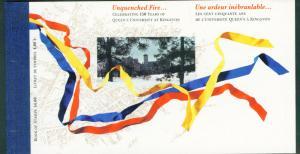CANADA Scott 1338a Queens University 1991 Booklet