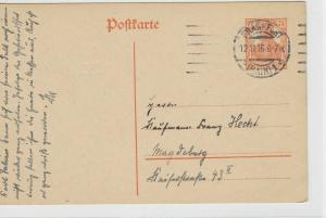 German Postal History Stamps Postcard Ref: R4812