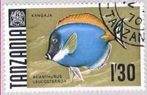 Tanzania 29 Used Surgeonfish 1967 (BP31825)