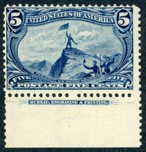 #288 – 1898 5c Trans-Mississippi Exposition. MLH OG