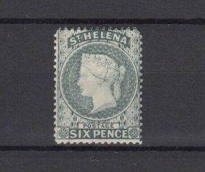 St Helena QV 1884 6d Grey SG44 MH JK6275