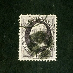 US Stamps # 151 XF Used Scott Value $210.00