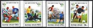 North Korea. 2006. 5126-29. Football. MNH.