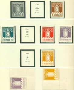 GREENLAND COLLECTION 1937-1997 Lindner Hingeless albums, Mint NH, Scott $7,739