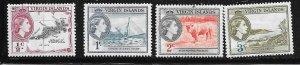 British Virgin Islands #115-118  (MH) CV$3.15