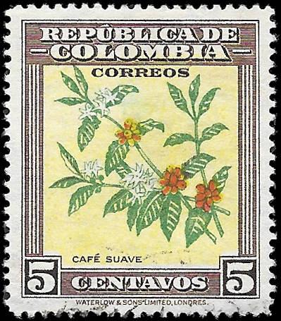 1947 COLOMBIA SC# 545 -  CV $.25 - USED ng - GOOD SPACE FILLING STAMP