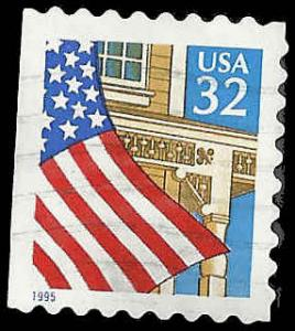 # 2920 USED FLAG OVER PORCH