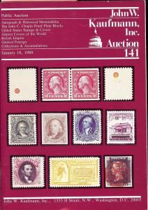 Autograph & Historical Memorabilia, The John C. Chapin Pr...