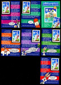 U.S. #3137 BUGS BUNNY STAMP CARDS SET OF 6