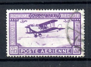 Egypt 1926 27m Airmail good used #C1 WS21009