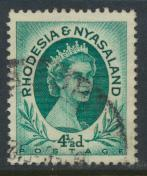 Rhodesia & Nyasaland SG 6 Sc# 146  Used  please see details