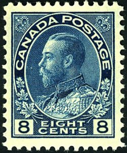 Canada #115 MINT OG NH