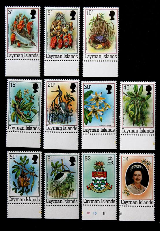 Cayman Islands Stamps Sc# 452-462 3c-$4 Flora, Fauna MNH Complete Set of 11