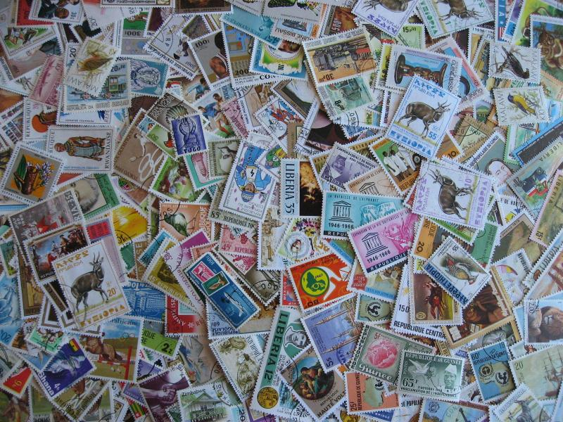 Africa colorful collection of 310 different very topical group! Some mixed condn