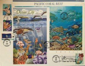 HNLP Hideaki Nakano 4159 Aquaman Guam Pacific Coral Lil Mermaid Liberia Ocean
