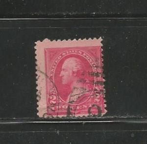 #249 Washington Type l Perf. 12