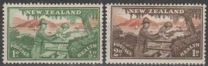 New Zealand #B28-9 MNH F-VF  (ST2532L)