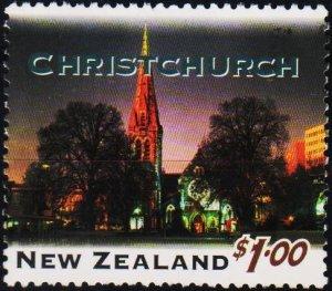 New Zealand. 1995 $1 S.G.1857 Fine Used