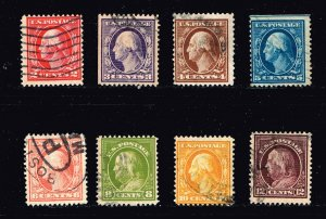 US STAMP 20TH OLD F. W. used stamps lot