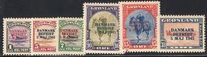 GREENLAND 19-27 VF MH (22019)