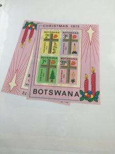 Souvenir Sheet Botswana #95a