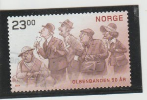 Norway  Scott#  1874  Used  (2019 Olsen Gang Movies)