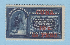 Cuba Sc E1 MNH. 1899 10c Special Delivery w/ red overprint for use in Cuba