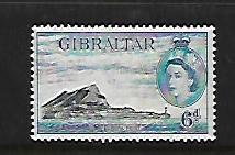 GIBRALTAR, 140, MINT HINGED, EUROPA POINT