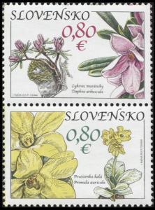 Slovakia. 2010. Muránska Plain (MNH OG) Set of 2 stamps