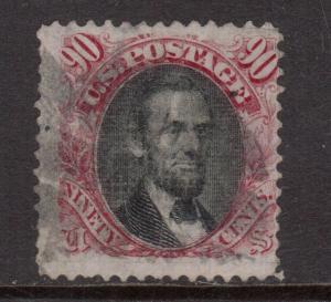 USA #122 Used Fine Key Stamp
