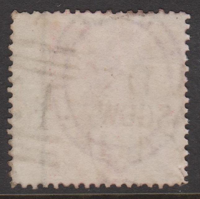 Great Britain 1857 QV 4d Rose Sideface Sc#26 Used Huge Wing Margin Glasgow Cxl