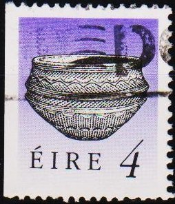 Ireland. 1990 4p(from booklet) S.G.748 Fine Used