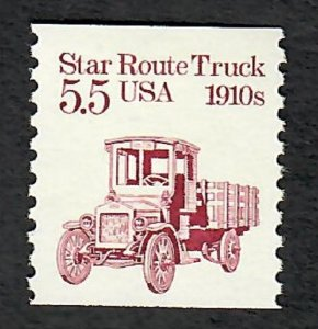 2125 Star Route Truck F-VF MNH transportation coil single